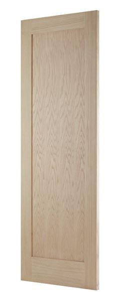 Oak Shaker 1 Panel Fd30 Oak Fire Doors Oak Doors Fire Doors