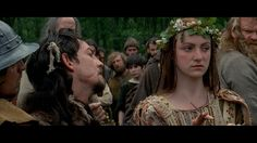 Braveheart--I loved this scene. the wedding and the bride was forced into Prima Nocta or else her new husband was to be killed..sad, but she was a proud Scott who loved her man.