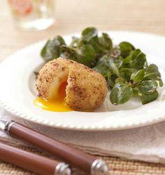 Photo de la recette : L'oeuf mollet frit de Cyril Lignac dans TopChef