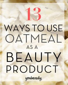 Oatmeal as face wash, scrub, mask, bath, or relaxing soap. Here are 13 DIY beauty tips you can try with this kitchen staple!