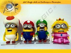 Família Super Mario Bros
