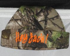 Hey Jack Beanie Hat Realtree Camo Baby by girlslovebows on Etsy, $10.99