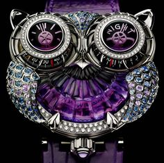 Boucheron Owl Watch. I Can't even imagine how ridiculously expensive this must be but I think it's stunning.