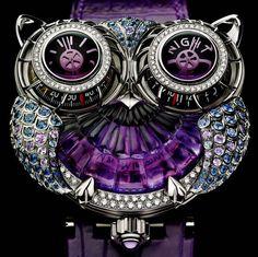 """""""Purple owl watch""""=>"""