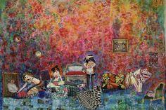 """#Arte - Ana Moraitis - Muestra """"SENTADA SOLA EN EL BORDE DE SU BOSQUE DE DESEOS"""" 2/10/2012"""