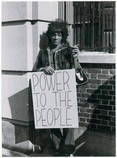 "Twenty years before NWA screamed ""Fuck tha Police"" Marsha P. Johnson was in the streets of New York throwing shoes at them (so the story goes). Marsha P. Johnson (June 27, 1944 – July 6, 1992) aka ""the Saint of Christopher Street"" was an iconic trans* rights activist. She was a leader in the resistance against police harassment in what we know as the Stonewall Riots. She also was the cofounder of Street Transvestite Action Revolutionaries (S.T.A.R.)"