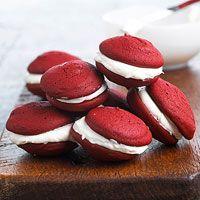 BHG's Newest Recipes:Red Velvet Whoopie Pie Recipe