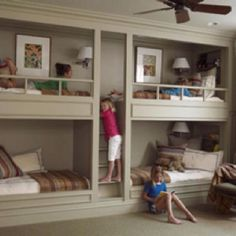 The ultimate sleepover room for kids
