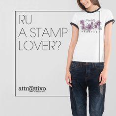 T-shirts με stamps για cool εμφανίσεις!