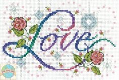 Design Works - Love - Cross Stitch World
