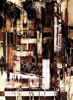 'rectangularly grunge' von Georg Ireland bei artflakes.com als Poster oder Kunstdruck $18.71