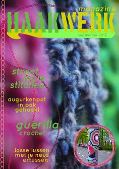 Haakwerk Magazine cover Crochet Magazine cover