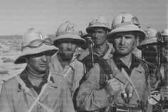 Italian soldiers - North Africa ww2