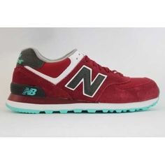 Latest Listing New Balance NB lovers style wine Red Grey For Women shoes Casual shoes Shop Cheap Football Shoes, Nike Shoes Cheap, Nike Free Shoes, Nb Shoes, Grey Shoes, Converse Shoes, Michael Jordan Shoes, Air Jordan Shoes, Grey