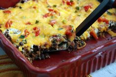Cooking with Chopin, Living with Elmo: Blue Chip Mexican Casserole