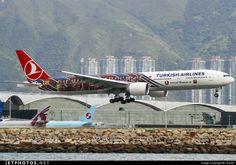 Boeing 777-3F2ER TC-JJI 40709 Hong Kong-Chek Lap Kok Int'l Airport - VHHH