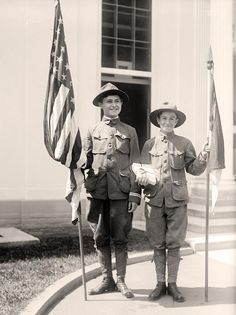 My husband, an both of my boys were Boy Scouts.