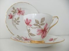 Vintage China Tea Set - Newlyn bone china tea set, England #vintage # ...