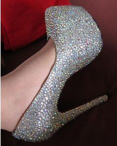 Crystal Platform Pumps