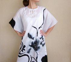 Kaftan Short Sleeve Dresses, Dresses With Sleeves, Kaftans, Simple Dresses, Dressing, Fashion, Simple Gowns, Moda, Caftans