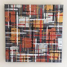 Small Original Abstract Painting acrylic on canvas Unique Words, Enamel Paint, Art Auction, Different Colors, Buy Art, Original Art, Abstract Art, The Originals, Canvas