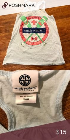 Simply Southern Euc Simply Southern Tops Tank Tops
