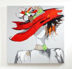 Race Day - Acrylic Painting - Modern oil painting on canvas for home decoration by Nova Deko Oil Painting Frames, Modern Oil Painting, Oil Painting Abstract, Wall Decor Pictures, Race Day, Acrylic Colors, Photo Canvas, State Art, Beautiful Paintings