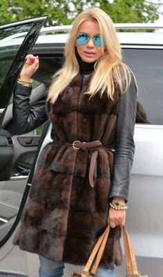 MINK FURS - MILANO ROYAL SAGA MINK LONG FUR VEST - FURS OUTLET Mink Vest, Mink Fur, Fur Jacket, Fur Coat, Fur Gilet, Fur Accessories, Vest Outfits, Winter Outfits, What To Wear