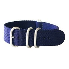 """22mm 5 Ring 12""""(300mm) Military Army Diver Nylon Watch Strap Band #Navy Blue - Stainless yeppoonus http://www.amazon.com/dp/B00RD3DSCE/ref=cm_sw_r_pi_dp_ah0Yub1KS0SBK"""