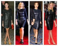Get The Look: The Row Leather Dress