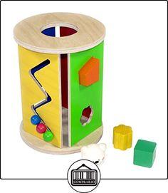 Hess 14890 - Caja de enchufe redondo de madera  ✿ Regalos para recién nacidos - Bebes ✿ ▬► Ver oferta: http://comprar.io/goto/B00H3BZZZO