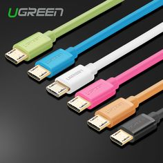 Ugreen Micro USB Cable 5V2A Micro USB Charge Cable 1m 2m 3m Fast Data Sync Charger Cable for Samsung Galaxy Xiaomi HuaWei HTC LG