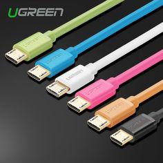 Ugreen micro usb cable 5v2a micro usb ladekabel 1 m 2 m 3 m schnelle daten-synchronisierungs-aufladeeinheits-kabel für samsung galaxy xiaomi huawei htc lg