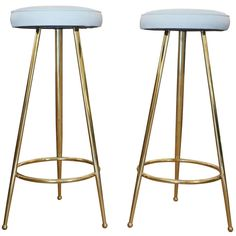 Italian 50's Bar Stools | From a unique collection of antique and modern stools at http://www.1stdibs.com/furniture/seating/stools/