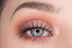 Fresh Summer Eyeshadow Tutorial using Makeup Geek - Sultry Suburbia Coral Eyeshadow, Summer Eyeshadow, Eyeshadow Primer, Eyeshadow Looks, Eyeshadow Makeup, Makeup Geek, Skin Makeup, Makeup Inspo, Makeup Inspiration