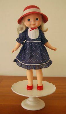 My Friend Mandy - I had this doll & loved her.  I still have her, in fact, my daughter plays with her now.  My grandma made clothes for her.  *Sigh*....those were the days!