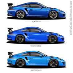 Which blue would you do?  Aqua Voodoo Mexico