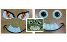 Your Monsters Toy cute eyes  4 single machine by artapli on Etsy, $3.49