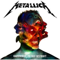 METALLICA Hardwired... To Self-Destruct 2LP 2016