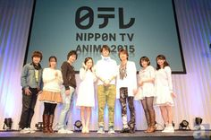 "Eguchi Takuya-san and Ryota Osaka for ""NTV anime recital 2015"" report at AnimeJapan 2015 http://www.animate.tv/news/details.php?id=1426985963 …"