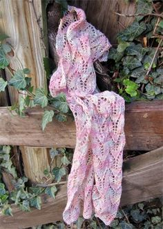 Mirabelle Lace Scarf Free Pattern