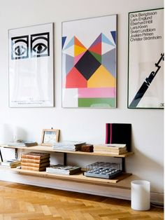 tips on hanging posters