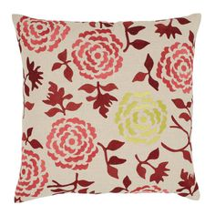 I pinned this Wallflower Pillow in Cinnamon from the emma at home event at Joss and Main!