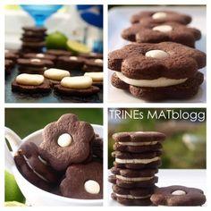 Sjokoladekjeks med limekrem   TRINEs MATblogg