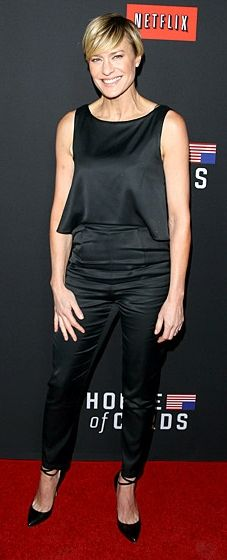 """Robin Wright: """"House of Cards"""" Season 2 Premiere"""