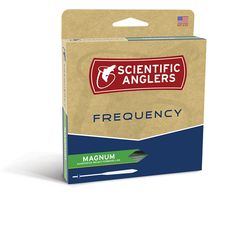 Scientific Anglers FREQUENCY MAGNUM lines are a specialty floating line that is best suited to fishing the largest dry flies, nymphs, streamers and strike indicators: Prompt Shipping, NO Sales tax!    <b  offer front welded loops to join your leaders, and are built with coatings that excel when fishing in temperate and cold waters.  SA FREQUNCY MAGNUM fly line Video and Guide Reviews. This fly line is designed with a taper that excels in pushing big flies of any sort, including nymphs and…