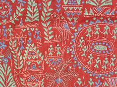 Kantha Embroidery Homework