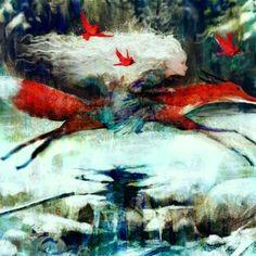 Winter Illustration, Illustration Art, Winter Magic, Wizards Of The Coast, Illustrators, Fantasy Art, Art Drawings, Pure Products, Art Prints