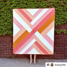 @suzyquilts does it again!!! Check out this new pattern scheduled to released next week. #MaypoleQuilt I'm loving it!!!! I need to finish my current project but can't stop daydreaming what colorway to use for this beauty. #quiltbucketlist
