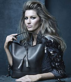 Gisele Bundchen for Louis Vuitton.